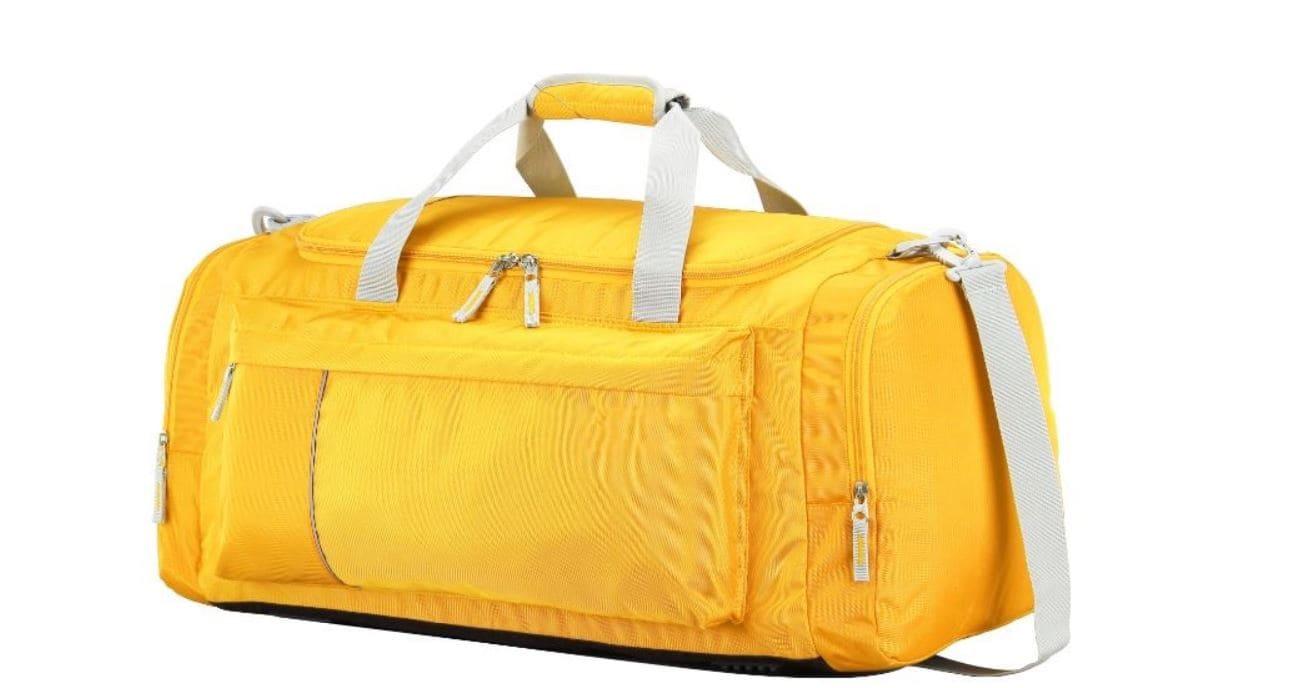 Yellow emergency bag