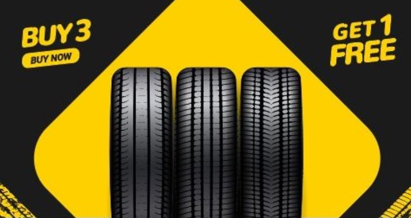 Tire offer ads