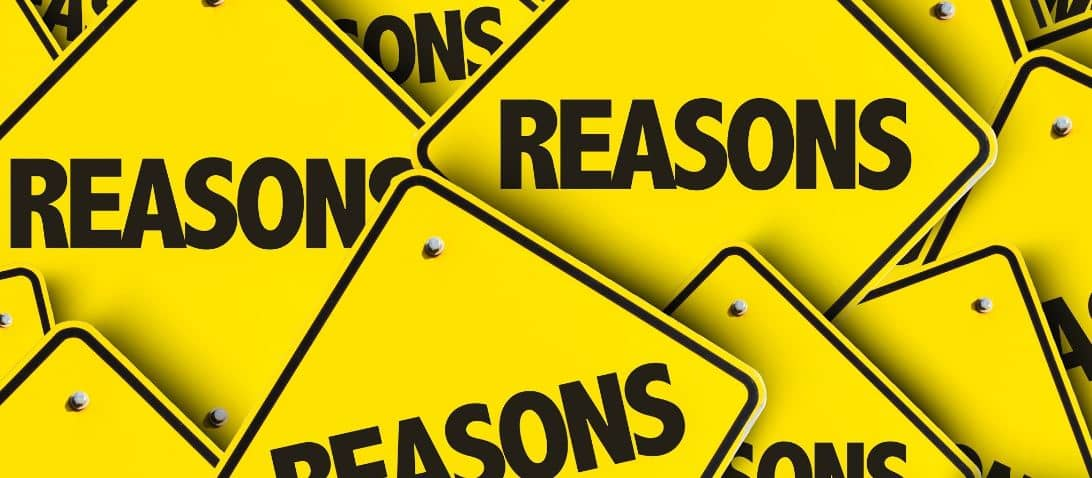 Reasons yellow signboards